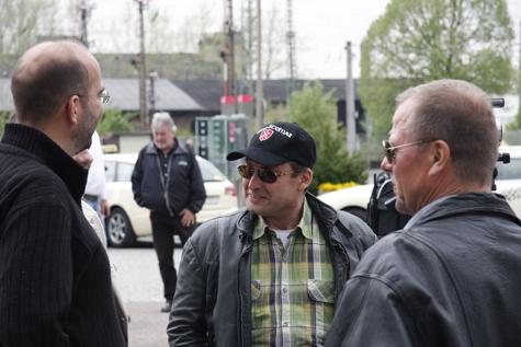 Mario Löffler hier in Zwickau am 1. Mai 2010 bei einer Nazidemonstration